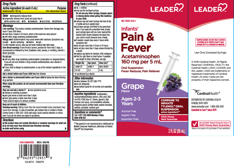 Acetaminophen (Infants Pain and Fever)