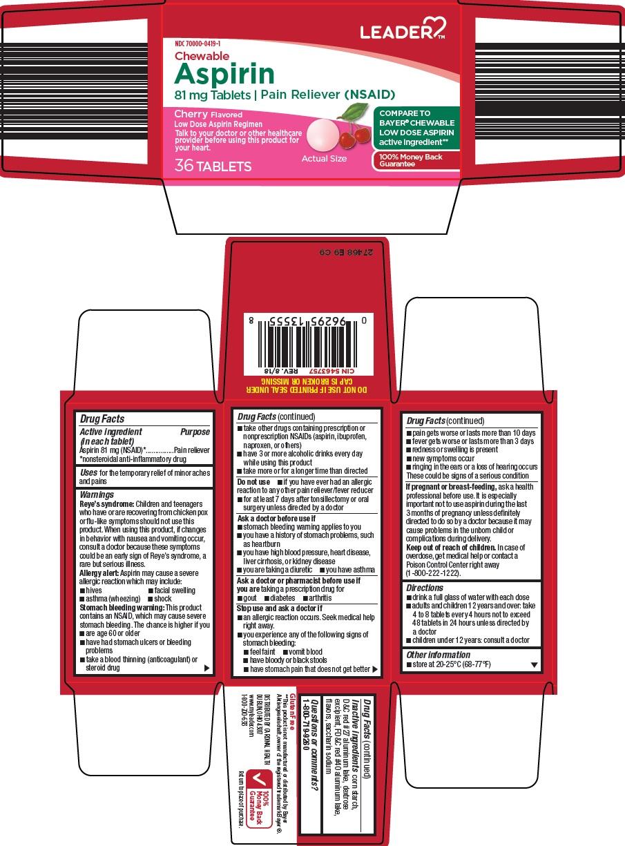 Aspirin (leader aspirin)