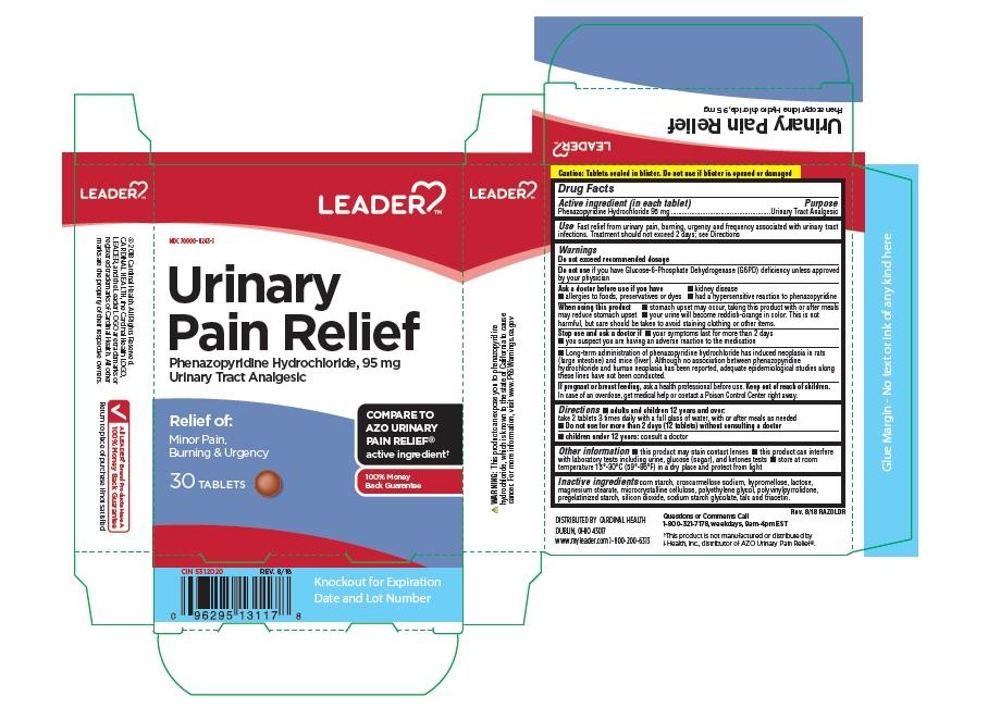 PHENAZOPYRIDINE HYDROCHLORIDE (Leader Urinary Pain Relief)