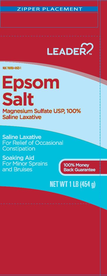 MAGNESIUM SULFATE (Epsom Salt)