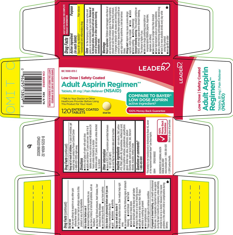 Aspirin (Adult Aspirin Regimen)
