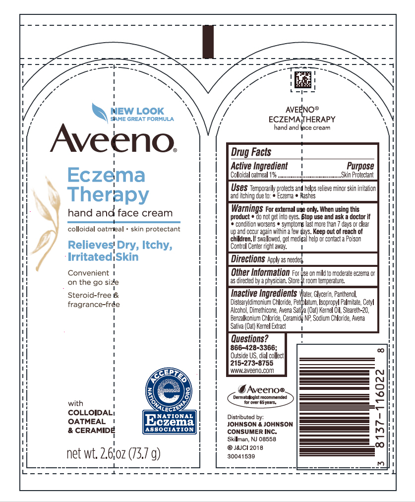 Oatmeal (Aveeno Eczema Therapy Hand and Face)