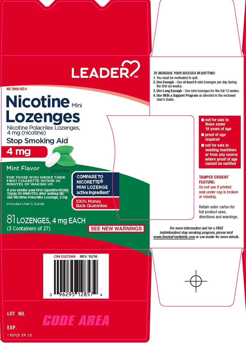 Nicotine Polacrilex (Leader Nicotine)
